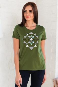 Хлопковая женская футболка Шарлиз