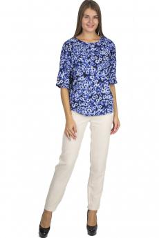 Синяя блузка Bast со скидкой